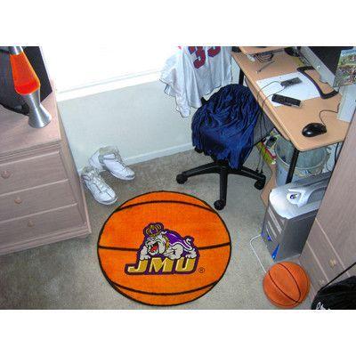 FANMATS NCAA James Madison University Basketball Mat