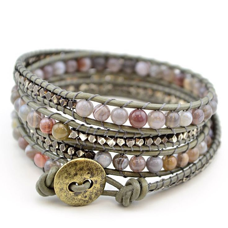 Free Wrap Bracelet Project Tricks To Laddering Sage Jewelry