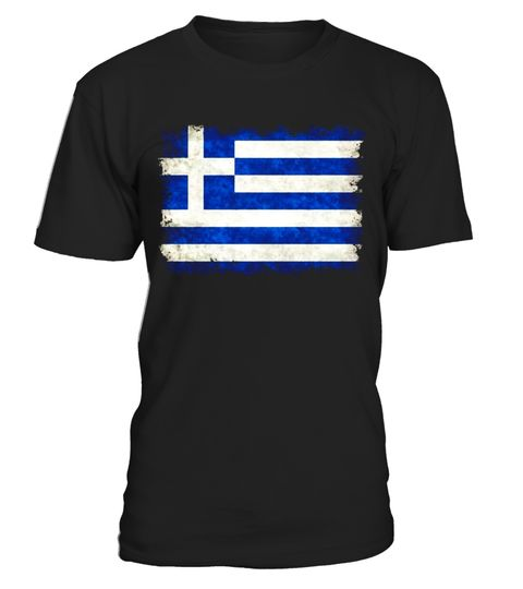 vintage grungy greek flag t shirt special offer not available in