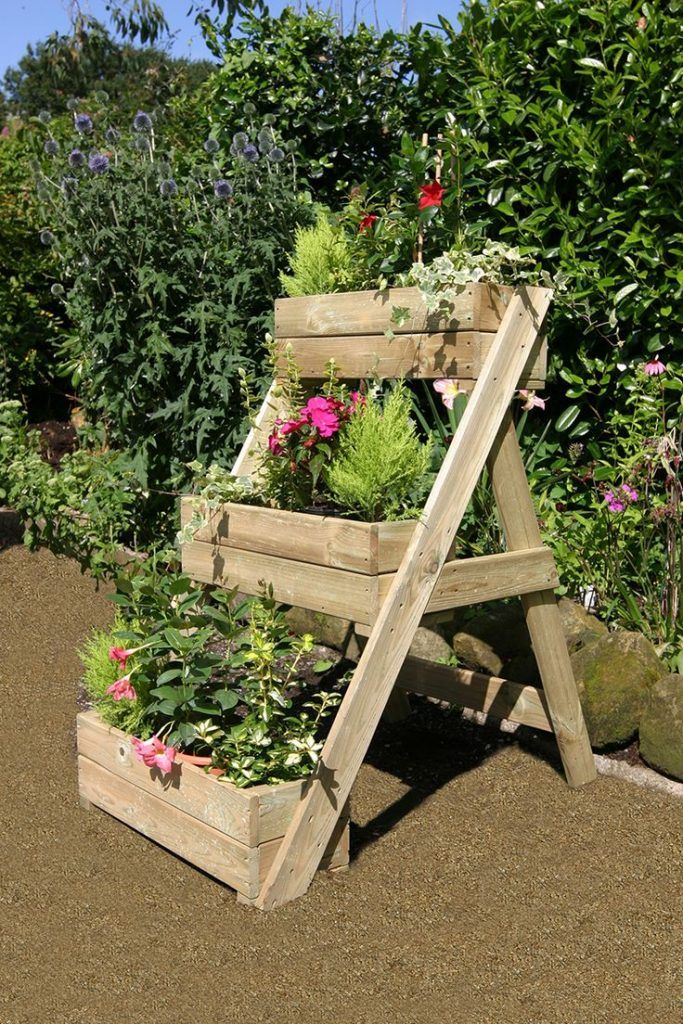 Amazing Wooden Planters You Will Love To See In Your Yard Garden - como hacer una jardinera