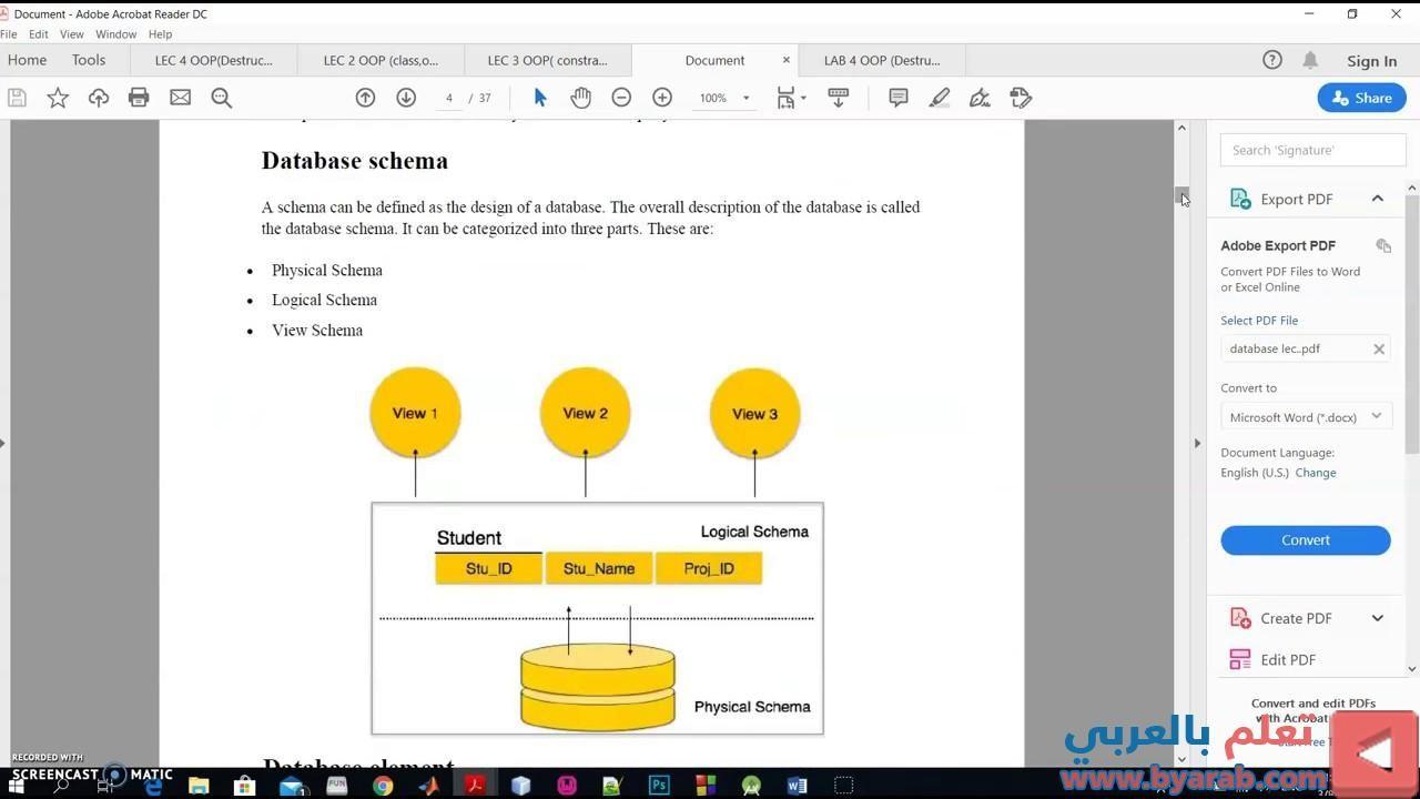 تعريف قواعد البيانات وفوائدها وكيفية انشاءها باستخدام Wamp Server المرحلة الرابعة قسم تقنيات Pie Chart Chart Diagram
