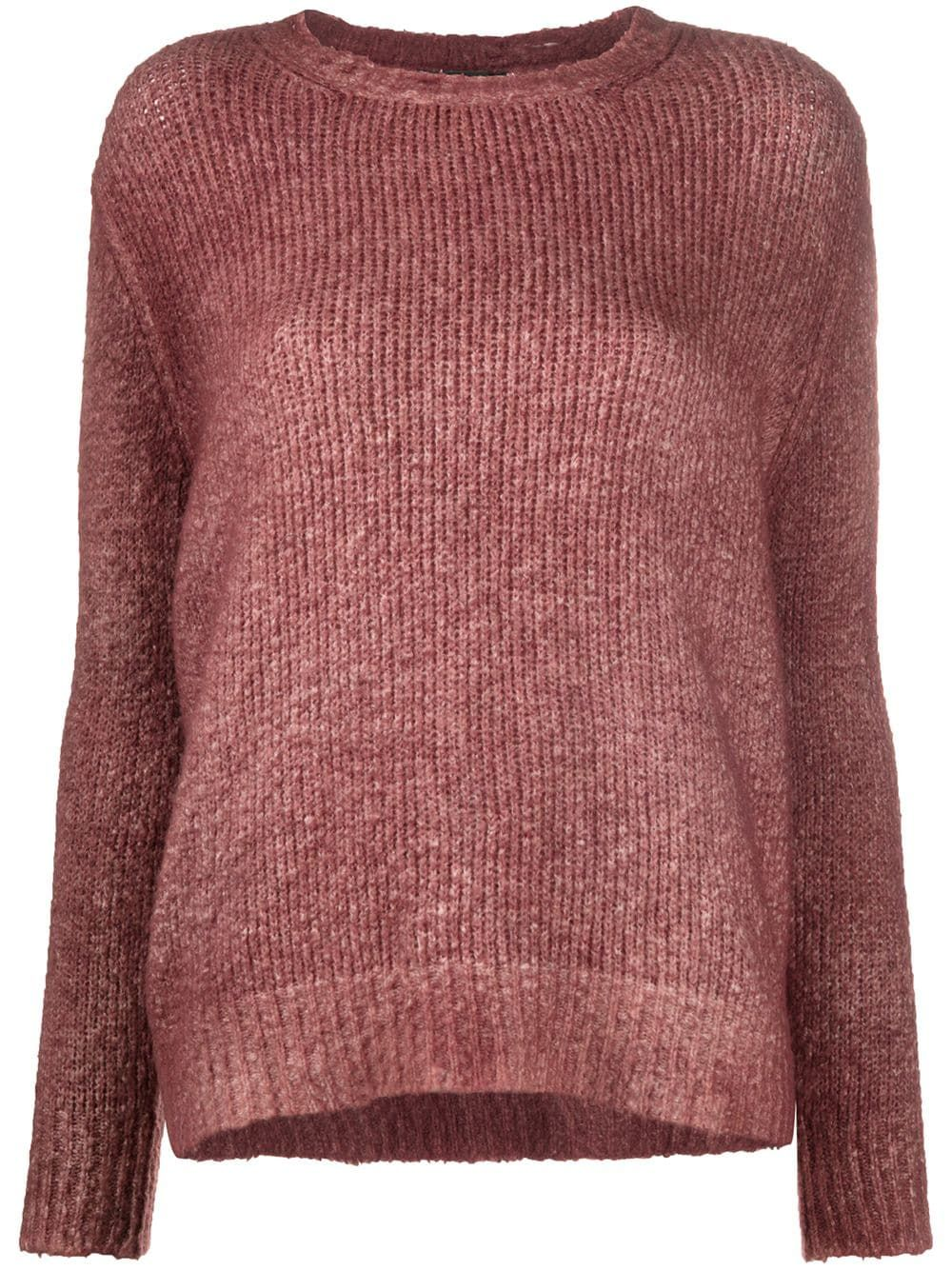 Avant Toi chunky knit jumper - Green