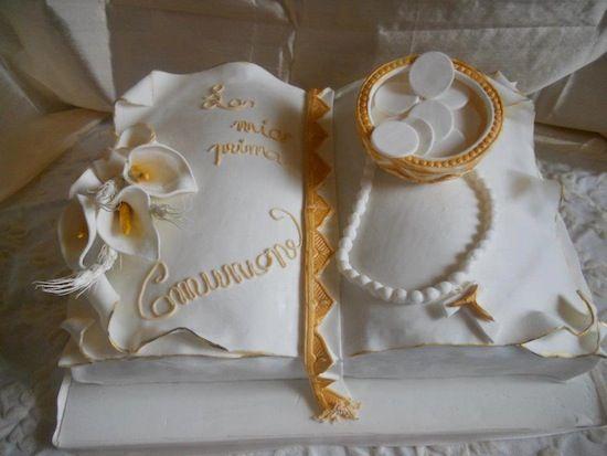 Torte prima comunione ideas comunione cresima for Decorazione torte prima comunione