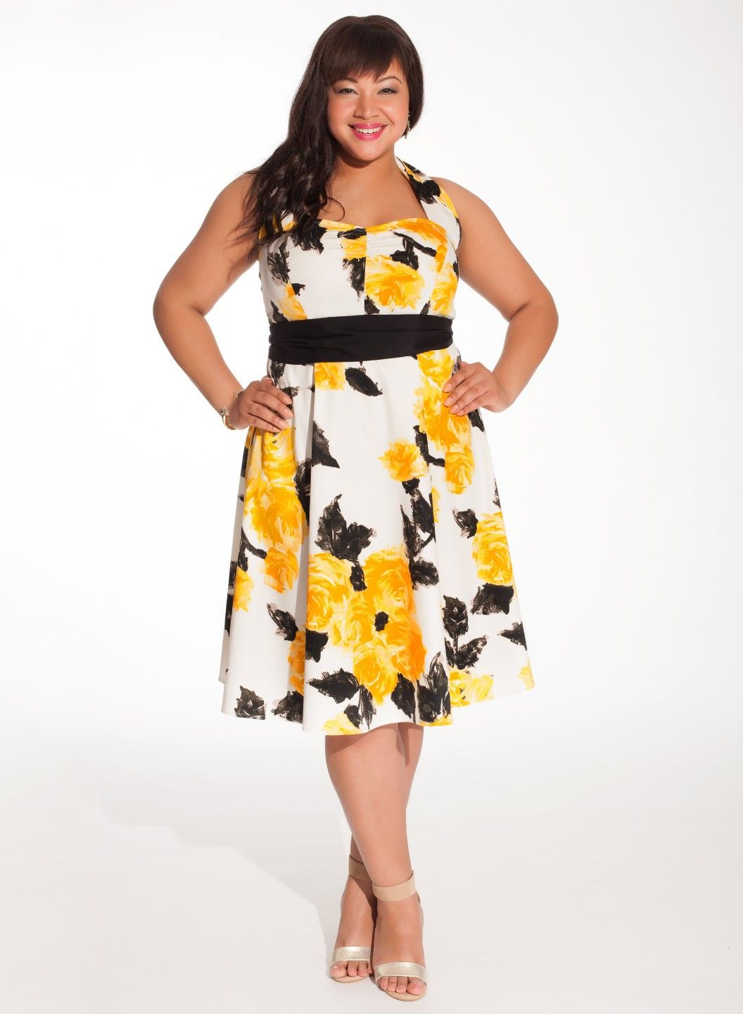 Best Floral Plus Size Dress Pictures - Mikejaninesmith.us ...