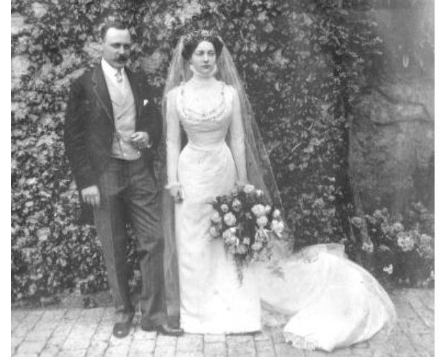 Clementine Before Her Wedding To Winston Churchill Bride