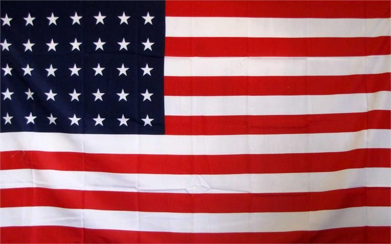 35 Star Historical 3'x 5' American Flag