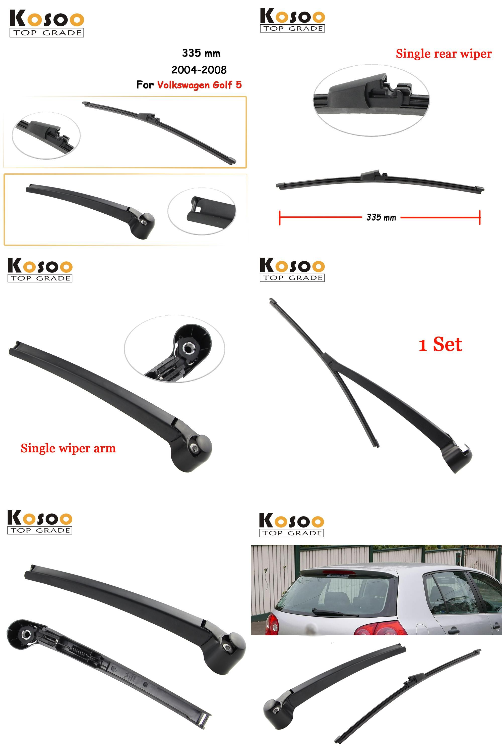 Visit To Buy Kosoo Auto Rear Car Wiper Blade For Volkswagen Golf 5 335mm 2004 2008 Rear Window Windshield Wiper B Car Wiper Volkswagen Golf Windshield Wipers
