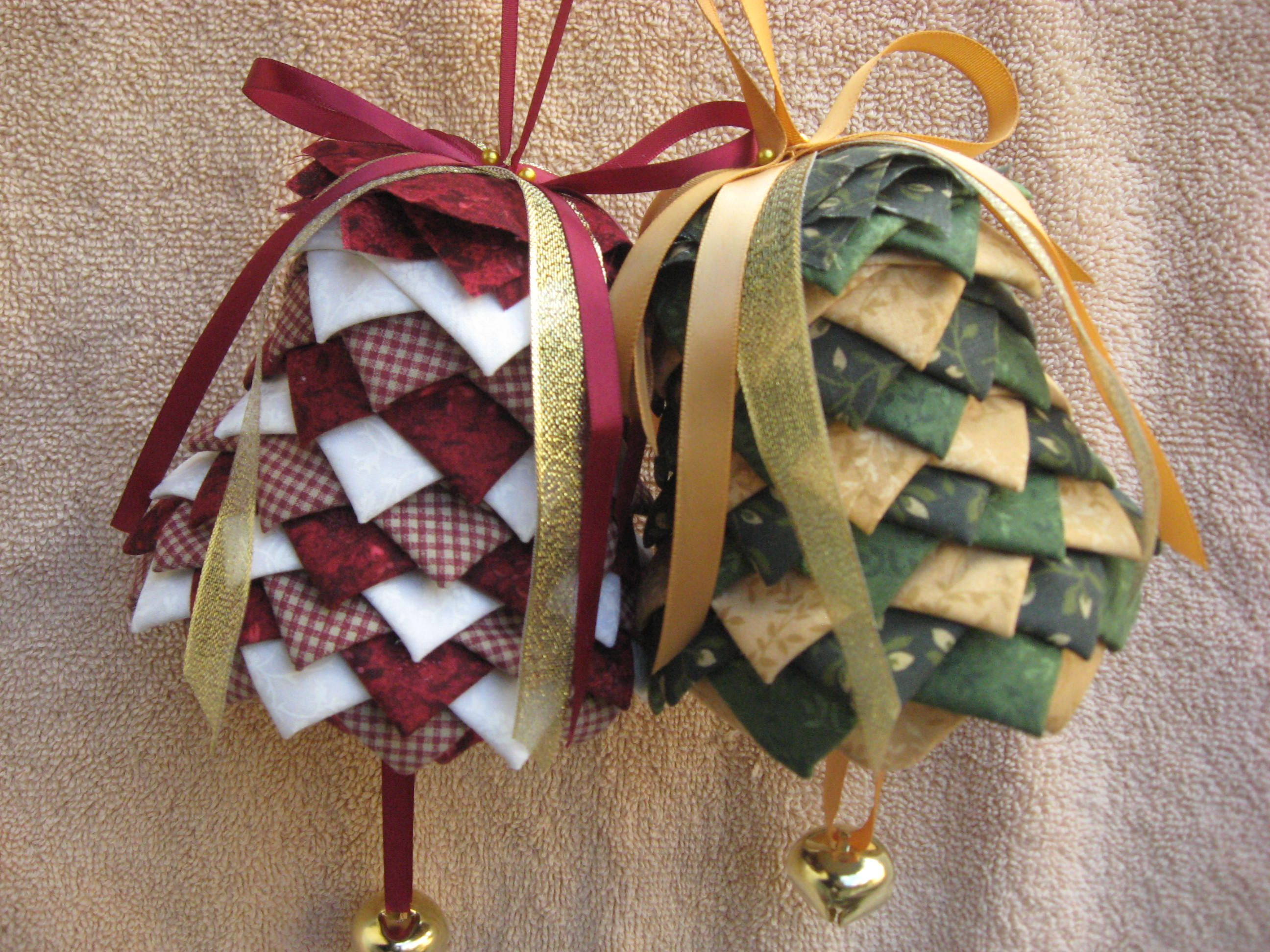 Folded fabric christmas ornaments patterns - Christmas Ornaments And Holiday Craft Decorations Easter 4th Of July Patriotic Valentines Day
