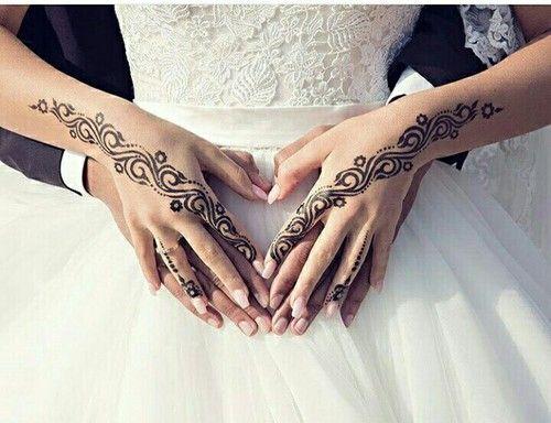Imagen de wedding, henna, and love
