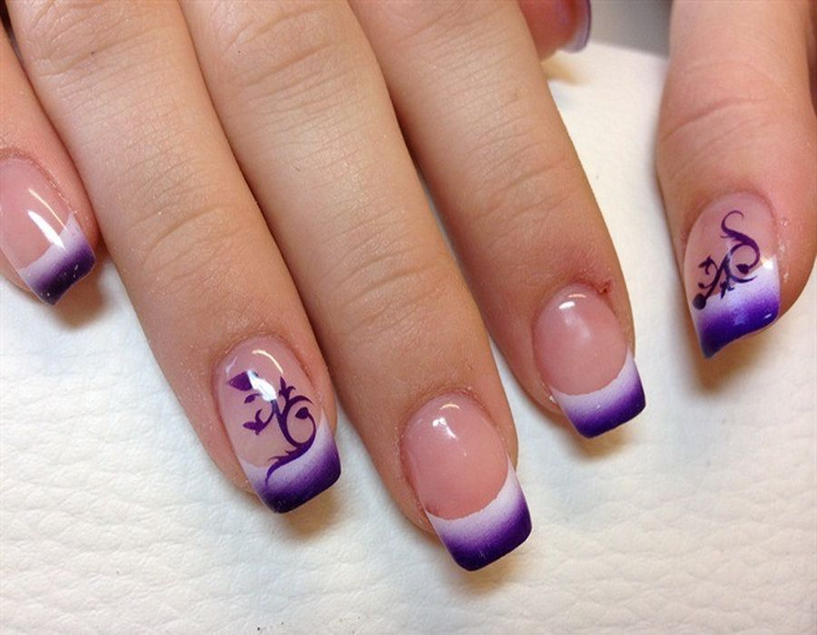 Airbrush Nail Art Fade Out Design Designs Gallery