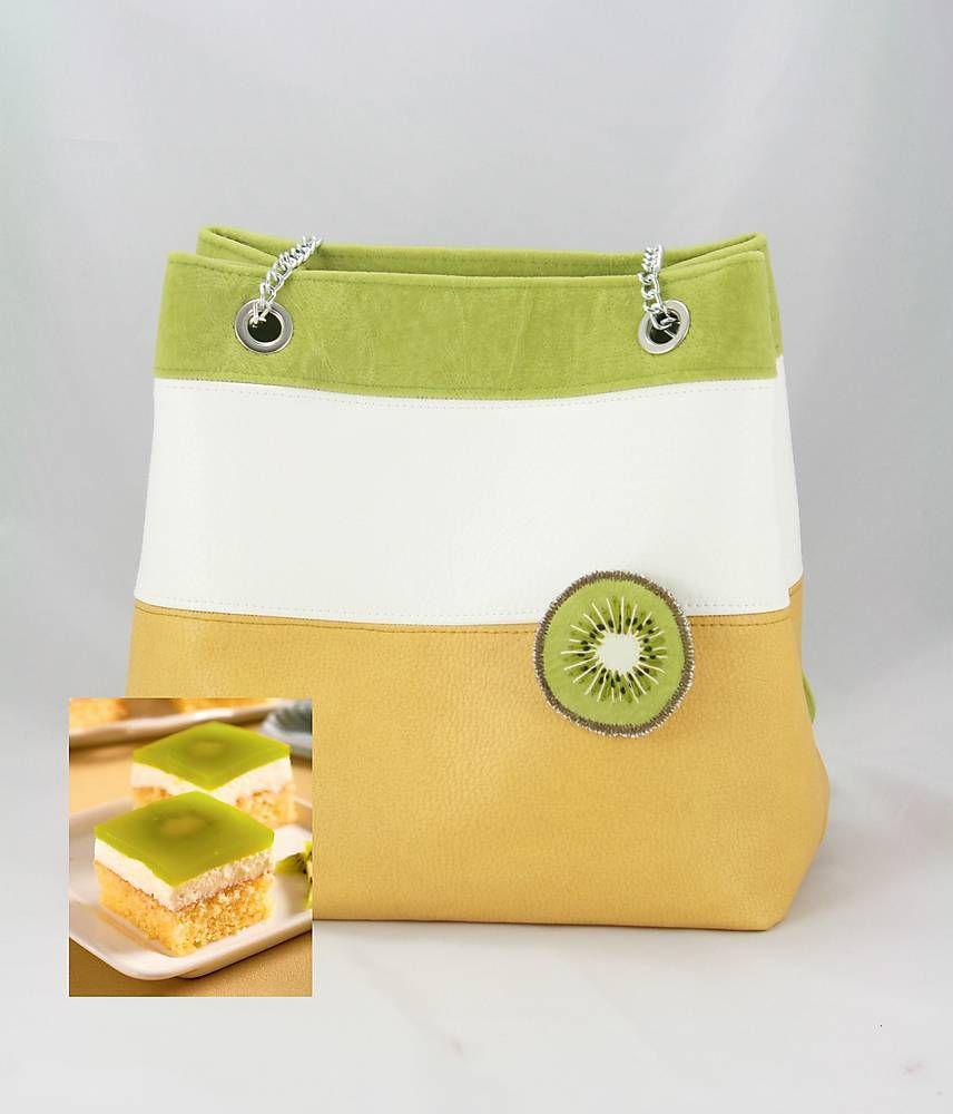 Kabelky - kabelka Kiwi kocka