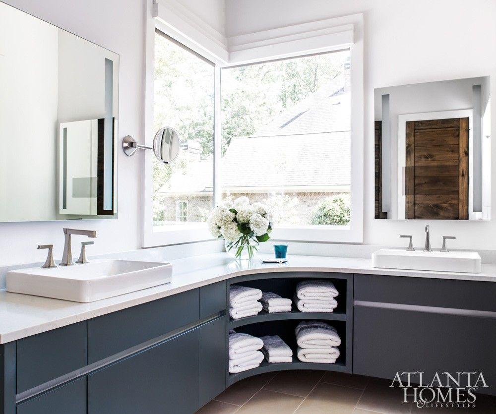 Bathroom vanity http://atlantahomesmag.com/article/fresh-farmhouse ...