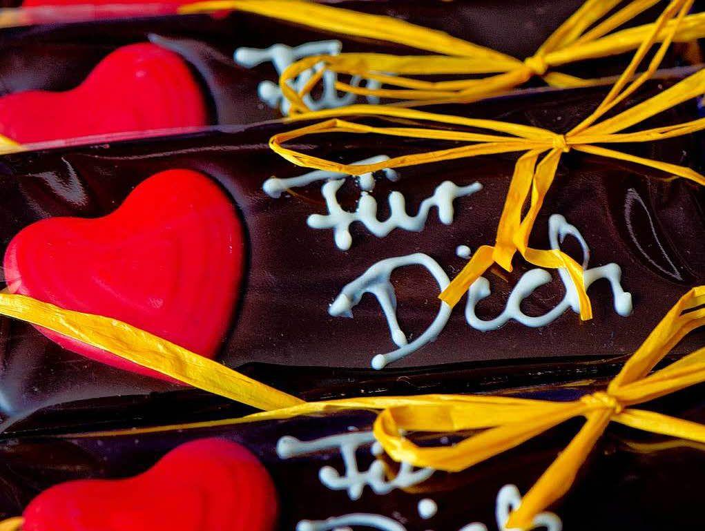 Am Valentinstag Schenkt Man Seiner Lie...e Machen Aber Besonders Große  Freude.