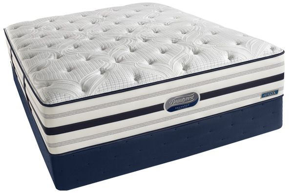 Simmons Recharge Mitzi 13 5 Plush Pillow Top Beautyrest Mattress Simmons Beautyrest Beautyrest Recharge