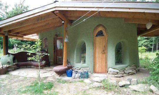 Green Cob house Auto construction-alternative building Pinterest