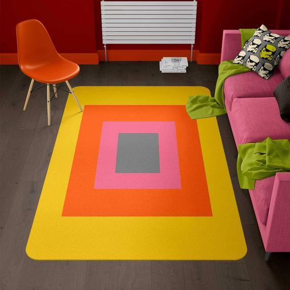 Super cool modern rug that brings modernity to any room