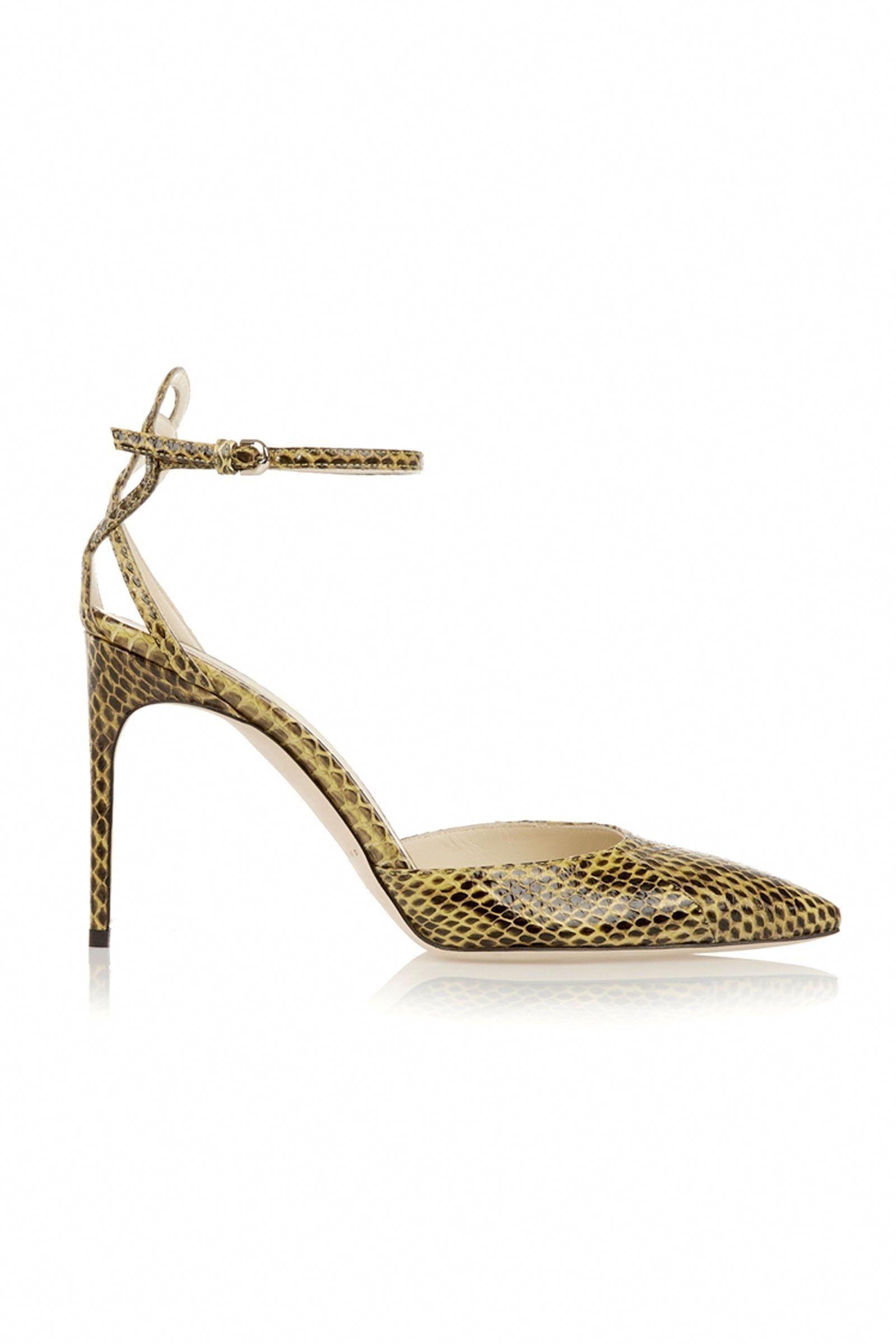 e4e7e342af Brian Atwood Celeste Elaphe Pumps: After a few trials with too-high heels,