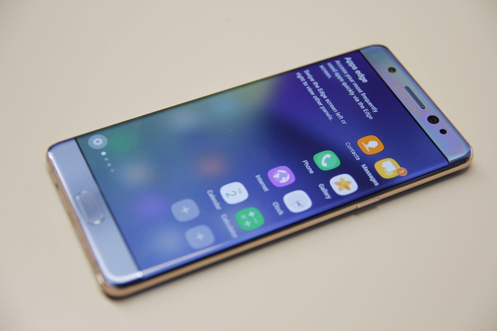 Samsung Lanzara Un Note 7 Con 6 Gb De Ram Y 128 Gb De
