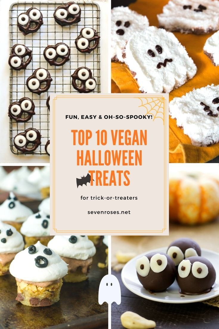 Fun Easy Vegan Halloween Treats Seven Roses Vegan Halloween Food Vegan Halloween Treat Halloween Food For Party