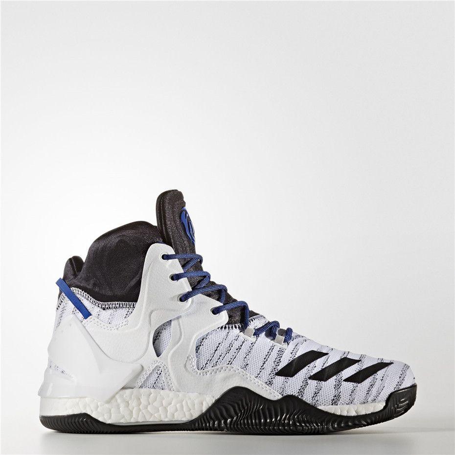 new concept f56af 5283c Adidas D Rose 7 Primeknit Shoes (Running White Ftw  Core Black  Scarlet)