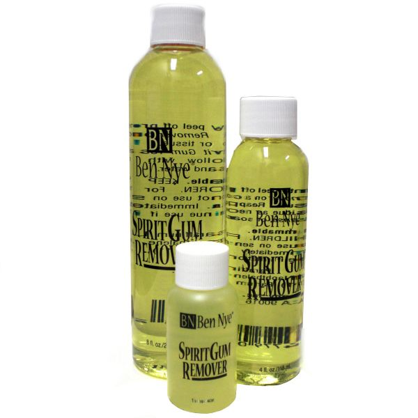 Spirit Gum Remover By Ben Nye Quickly Dissolve The Sticky Residues Of Spirit Gum Adhesive 02 Sg With This Effective Remover Follow Ben Nye Gum Gum Removal
