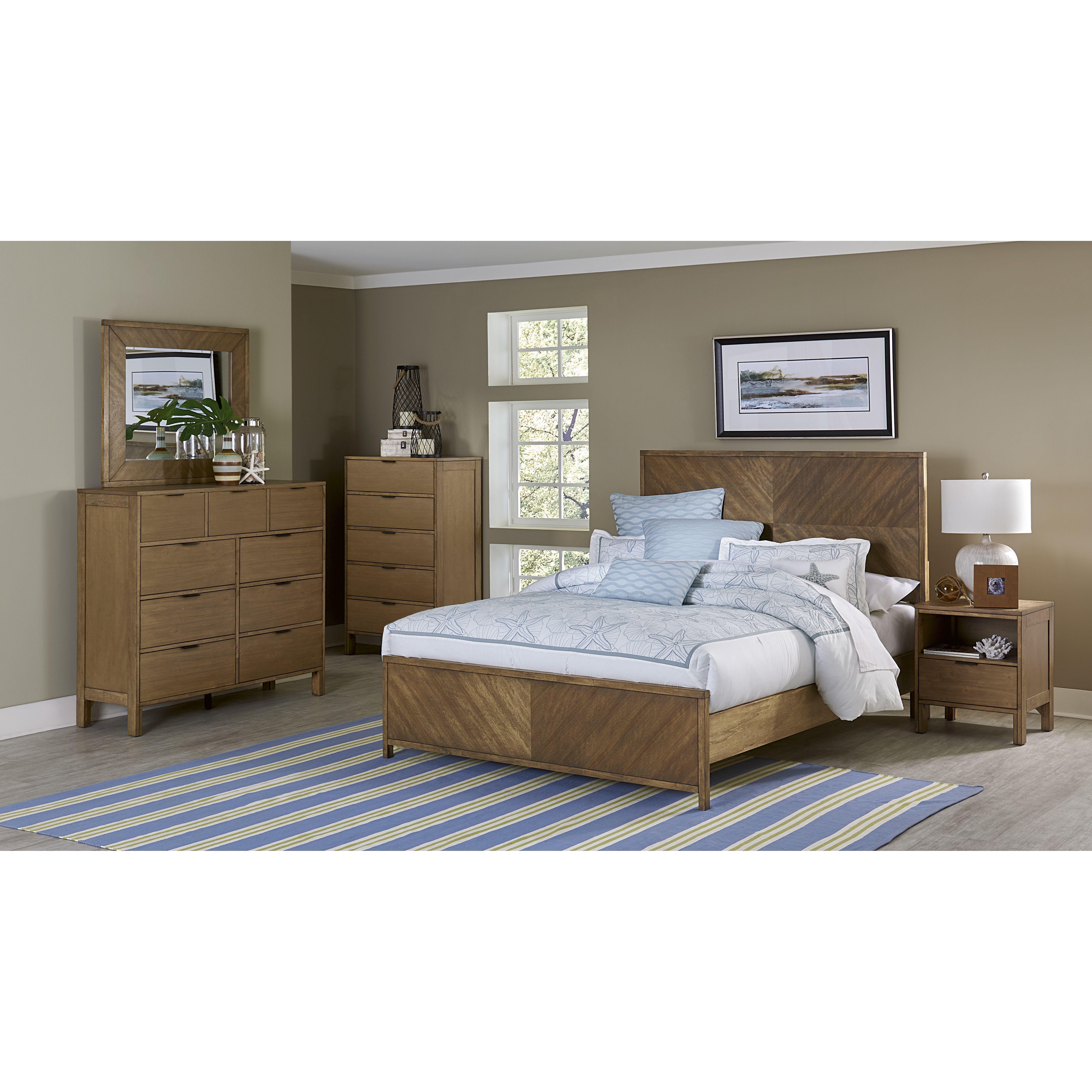 Delightful Progressive Furniture Inc. Strategy Panel Bed