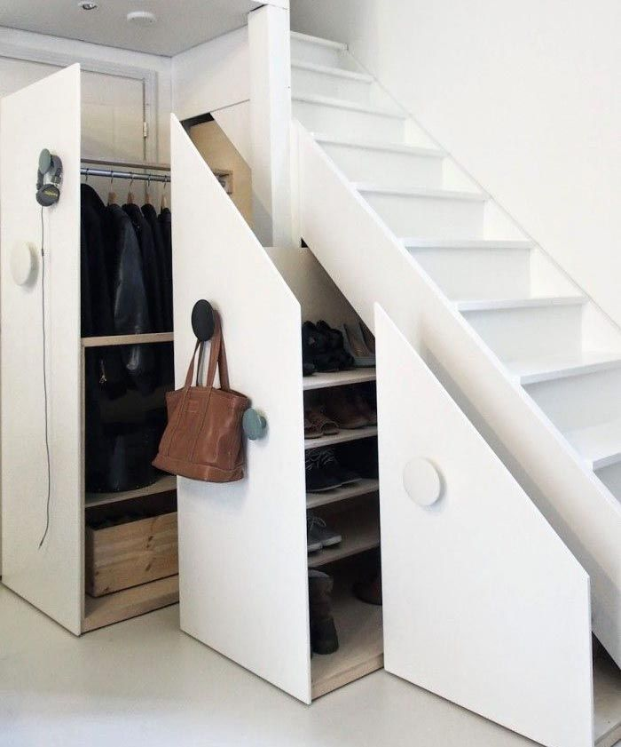 Slide-out Doors Can Also Reveal Hidden Closet Space If You