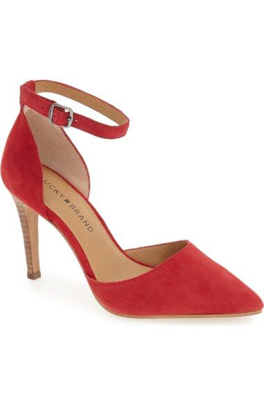 d136528a14 Lucky Brand 'Tukko' d'Orsay Ankle Strap Pump (Women) available at #Nordstrom