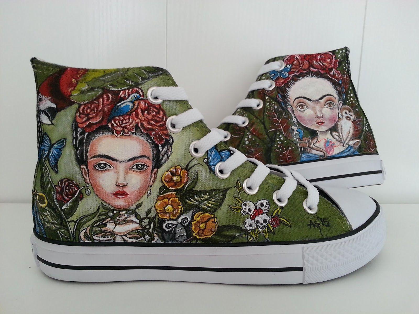 Zapatillas con ilustraciones