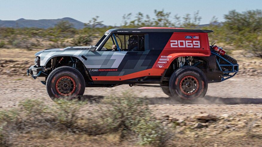 2021 Ford Bronco Imagined In Doorless Roofless Jeep Wrangler Mode