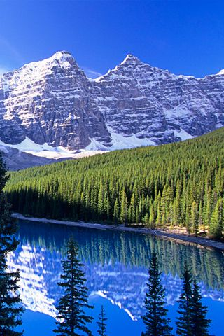 Snowy Mountains 2 Scenery Pictures Android Wallpaper Scenery