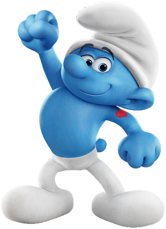 Hefty Smurf Smurf Cartoon Smurfs Fantasy Art