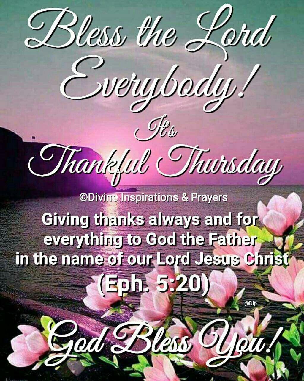 Thursday Blessing~~J~ Philippians 2:3 | Thursday prayer ...  |Thursday Prayers From The Heart
