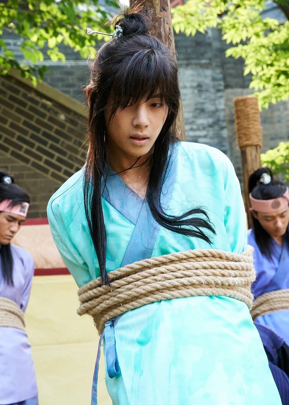 Kim Taehung (BTS V) at Hwarang [161227]