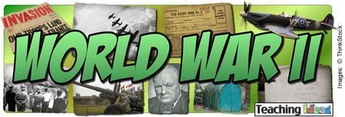 World War II writing?