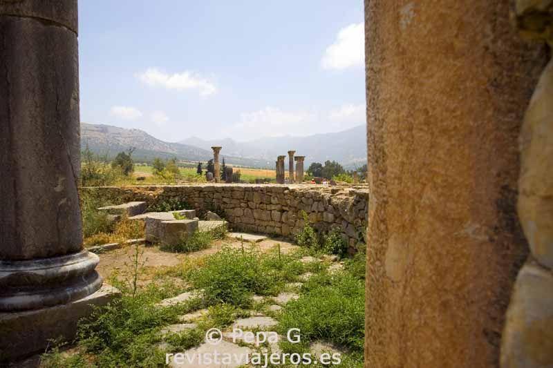 Ruinas de la ciudad romana de Volúbilis (excursión desde Fez)