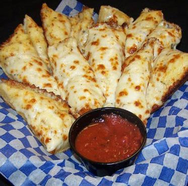 Make Pizza Hut cheese breadsticks at home.