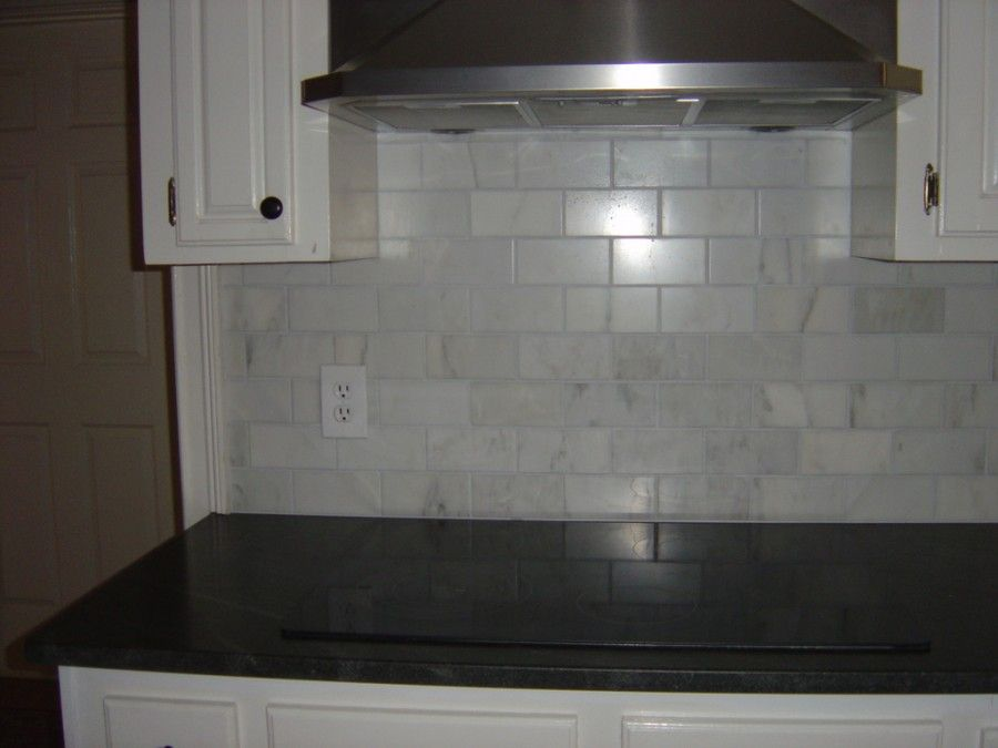 image of fabulous gray subway tile backsplash magnolia
