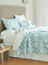 Providence Damask Quilt and other Home Bedroom at Linen Source ... : linensource quilts - Adamdwight.com