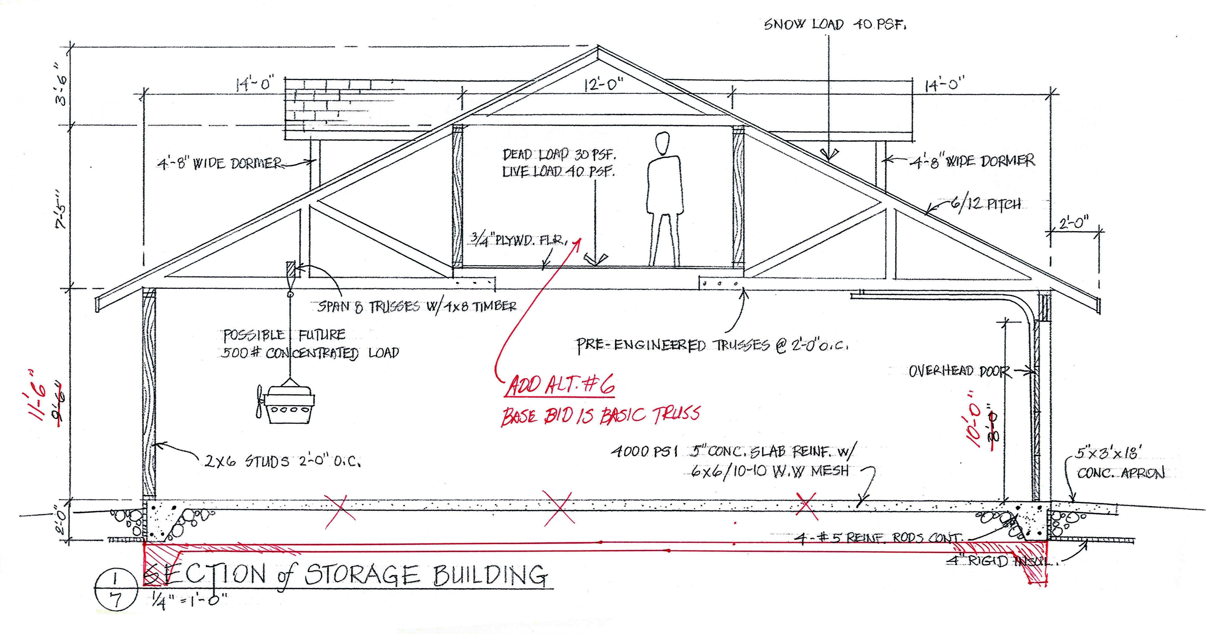 Basic Garage Framing Duluth Realty