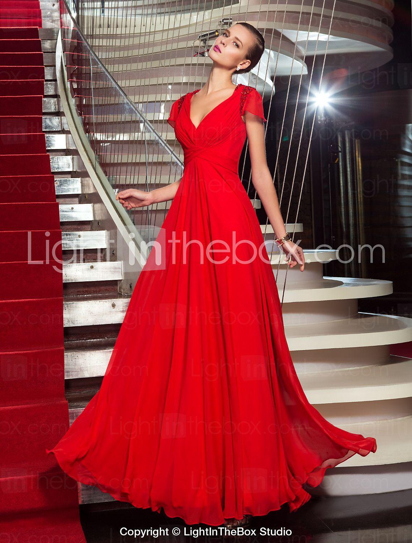 [$109.99] Sheath / Column Celebrity Style Elegant Inspired ...