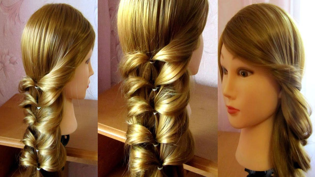 Easy hairstyle for thin hair easy hairstyles pinterest easy