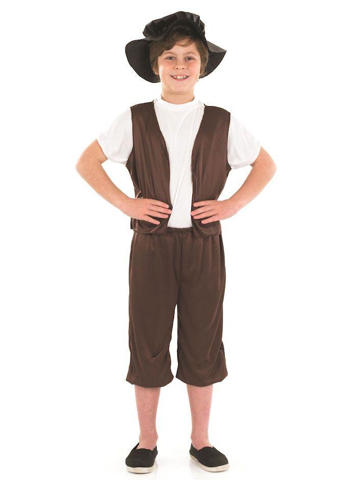 Tudor Boy childrens dress up costume by Fun Shack ...