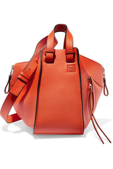 1f83323cb2f6 LOEWE Hammock Small Textured-Leather Shoulder Bag.  loewe  bags  shoulder  bags  leather
