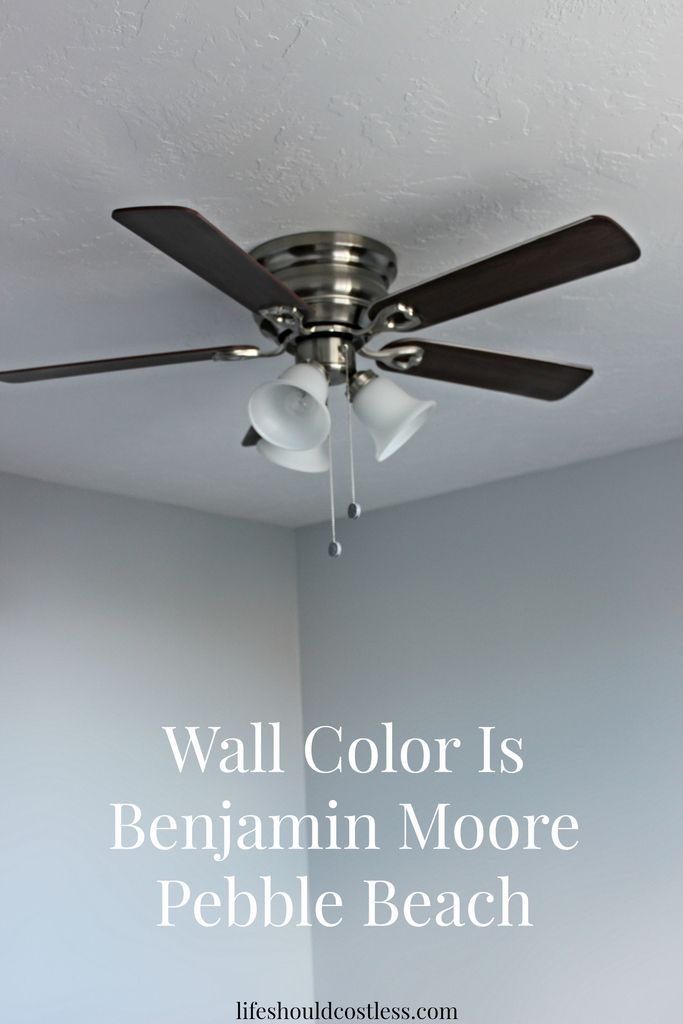 Benjamin Moore Pebble Beach Paint Color  Just the right amount of     Benjamin Moore Pebble Beach Paint Color  Just the right amount of blue and  gray  See post to see how it looks in different lighting   LIFE SHOULD COST  LESS
