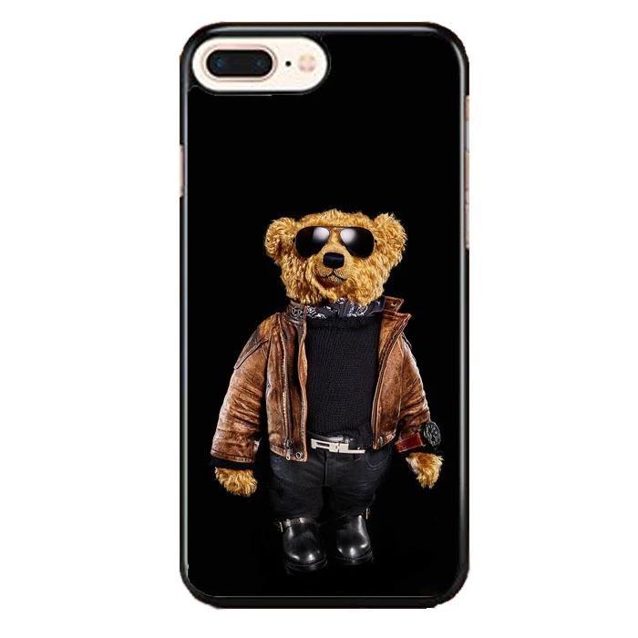 Polo Bear Black Iphone 8 Plus Case Frostedcase Case Iphone Rubber Case