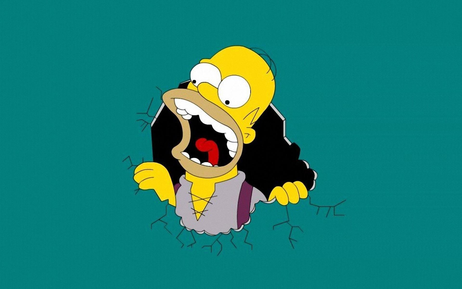 X The Simpsons Desktop PC And Mac Wallpaper