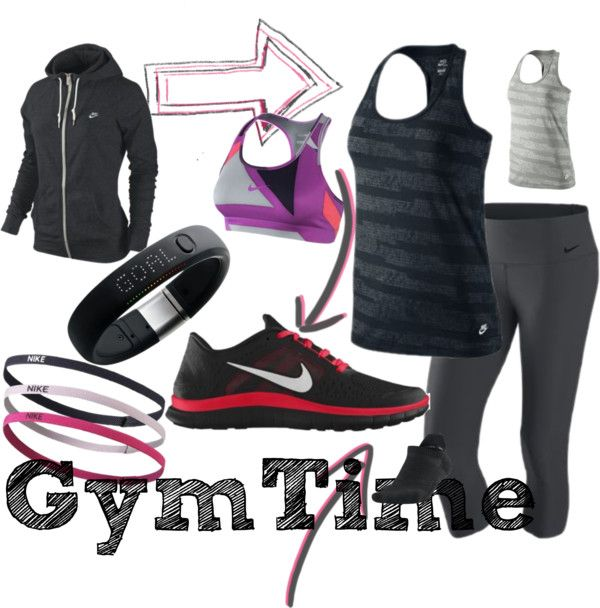 Gym Time, created by heidi-toevs on Polyvore