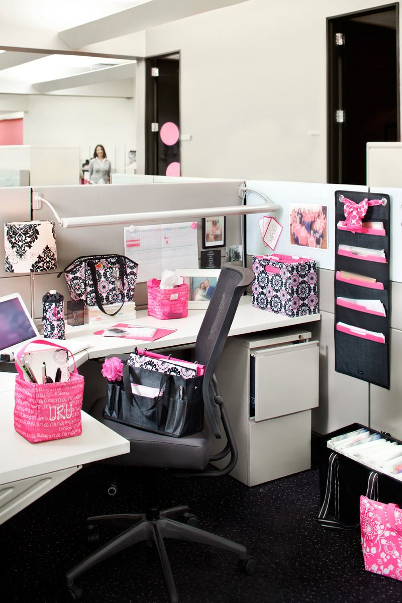 add some personality to your office or cubicle with thirty one products. Black Bedroom Furniture Sets. Home Design Ideas