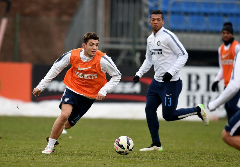 Mateo Kovacic and Fredy Guarin